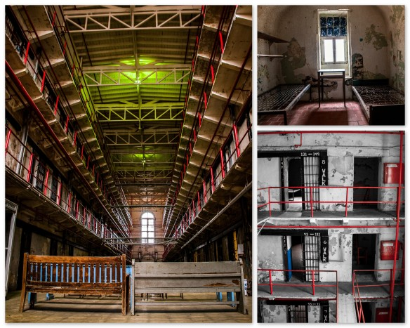 A Hall collage